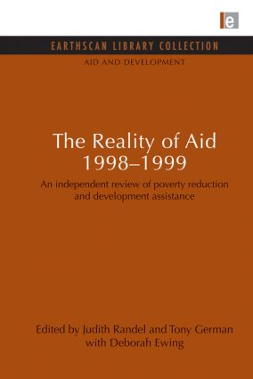 The Reality of Aid 1998-1999: An independent review of poverty reduction and development assistance, 1st Edition (Paperback) book cover