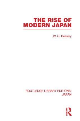 The Rise of Modern Japan book cover