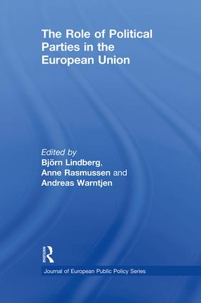 The Role of Political Parties in the European Union (Paperback) book cover