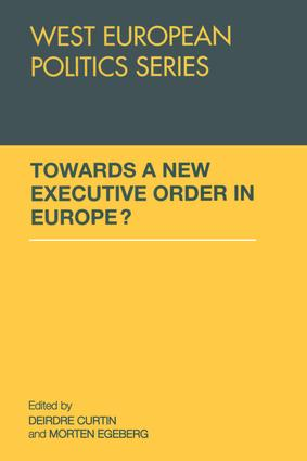 Towards A New Executive Order In Europe? (Paperback) book cover