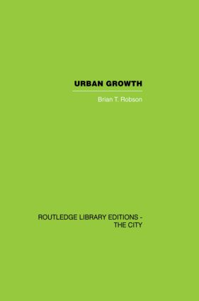 Urban Growth: An Approach, 1st Edition (Paperback) book cover