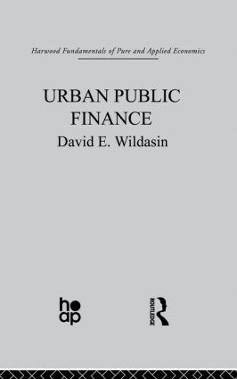 Urban Public Finance: 1st Edition (Paperback) book cover