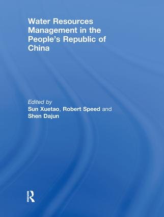 Water Resources Management in the People's Republic of China book cover