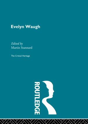 Evelyn Waugh: 1st Edition (Paperback) book cover