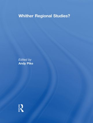 'Whither regional studies?' (Paperback) book cover
