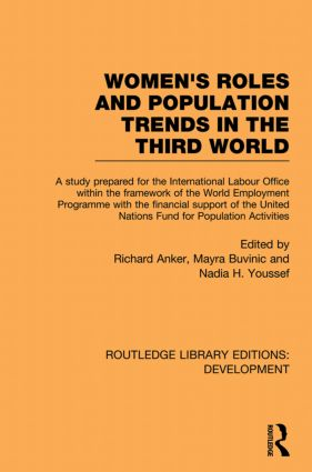 Womens' Roles and Population Trends in the Third World (Paperback) book cover