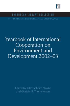 Yearbook of International Cooperation on Environment and Development 2002-03 (Paperback) book cover