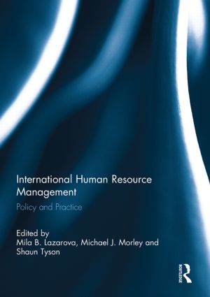 International Human Resource Management: Policy and Practice, 1st Edition (Paperback) book cover