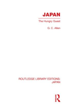 Japan: The Hungry Guest (Paperback) book cover