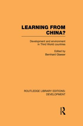 Learning From China?: Development and Environment in Third World Countries (Paperback) book cover