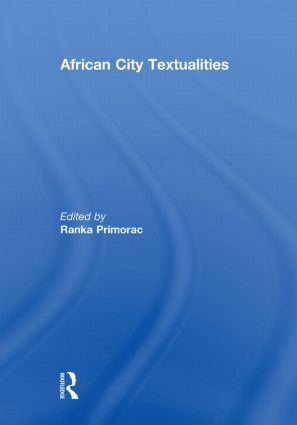 African City Textualities book cover