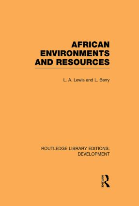 African Environments and Resources book cover