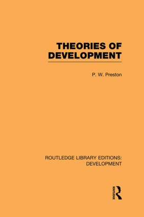 Theories of Development: 1st Edition (Paperback) book cover