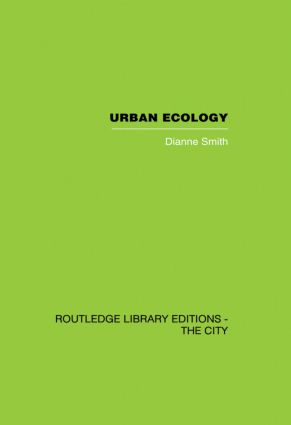 Urban Ecology: 1st Edition (Paperback) book cover