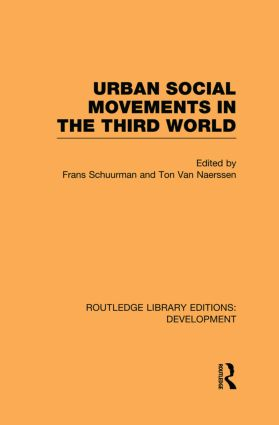 Urban Social Movements in the Third World (Hardback) book cover