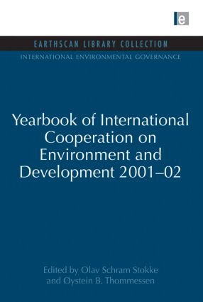 Yearbook of International Cooperation on Environment and Development 2001-02 book cover