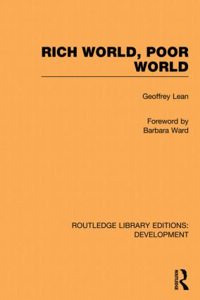 Rich World, Poor World (Hardback) book cover
