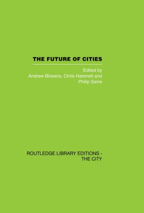 The Future of Cities: 1st Edition (Paperback) book cover