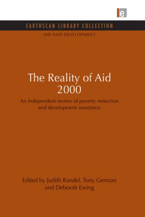 The Reality of Aid 2000: An independent review of poverty reduction and development assistance (Paperback) book cover