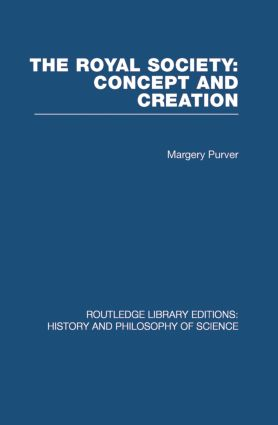 The Royal Society: Concept and Creation (Paperback) book cover