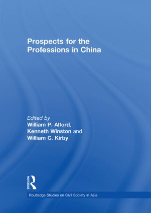 Prospects for the Professions in China (Paperback) book cover