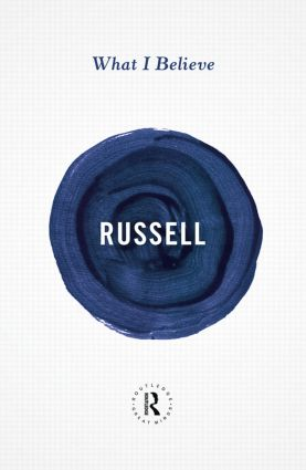 What I Believe (Paperback) book cover