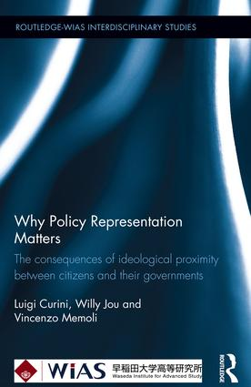 Why Policy Representation Matters: The consequences of ideological proximity between citizens and their governments (Hardback) book cover