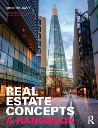 Real Estate Concepts: A Handbook book cover