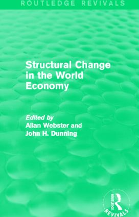 Structural Change in the World Economy (Routledge Revivals) (Hardback) book cover