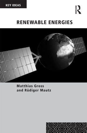 Renewable Energies: 1st Edition (Hardback) book cover