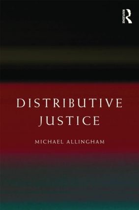 Distributive Justice: 1st Edition (Paperback) book cover