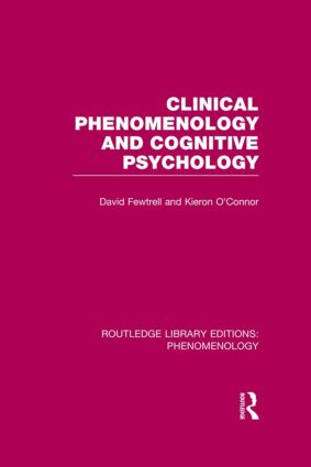 Clinical Phenomenology and Cognitive Psychology book cover