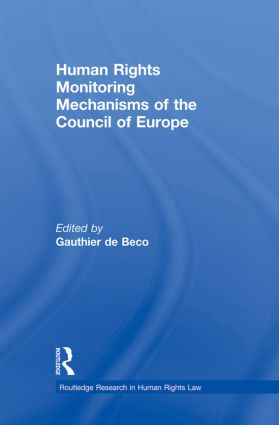 Human Rights Monitoring Mechanisms of the Council of Europe (Paperback) book cover