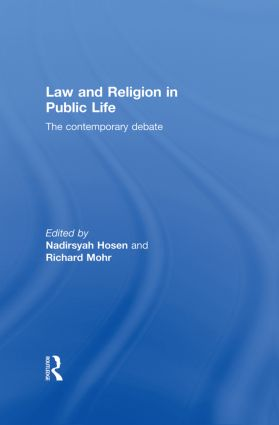 Law and Religion in Public Life: The Contemporary Debate (Paperback) book cover