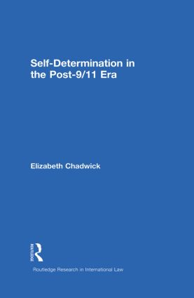 Self-Determination in the Post-9/11 Era (Paperback) book cover