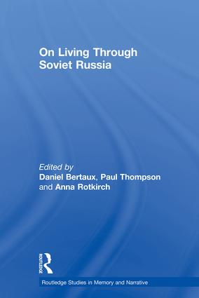 On Living Through Soviet Russia (Paperback) book cover