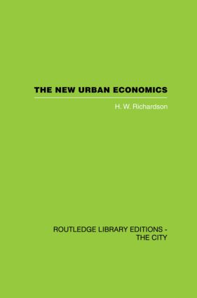 The New Urban Economics: And Alternatives, 1st Edition (Paperback) book cover