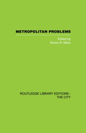 Metropolitan Problems: 1st Edition (Paperback) book cover