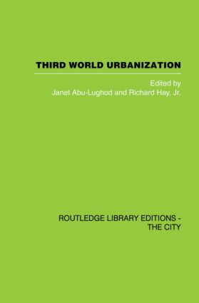 Third World Urbanization: 1st Edition (Paperback) book cover