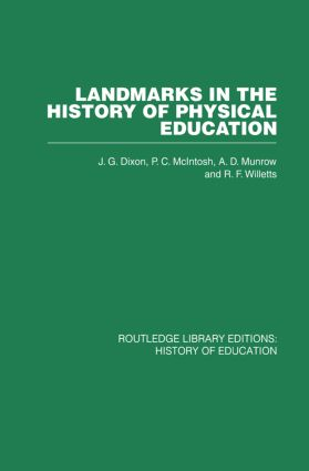 Landmarks in the History of Physical Education (Paperback) book cover