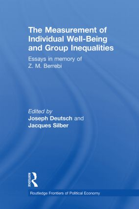 The Measurement of Individual Well-Being and Group Inequalities