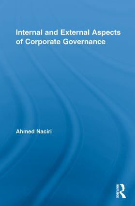Internal and External Aspects of Corporate Governance book cover