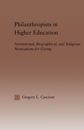 The University as Recipient and Generator of Magnanimous Philanthropy