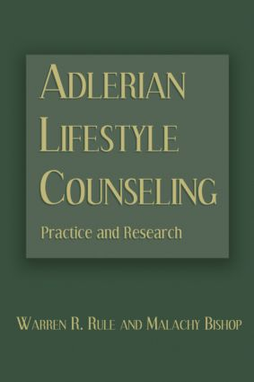 Adlerian Lifestyle Counseling: Practice and Research (Paperback) book cover