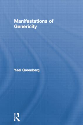 Manifestations of Genericity (Paperback) book cover