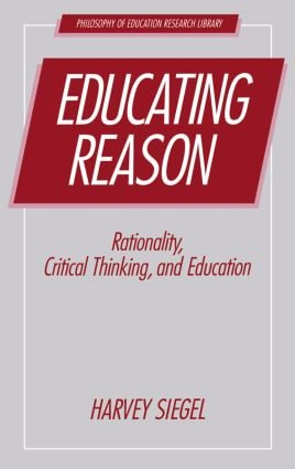 Educating Reason: 1st Edition (Paperback) book cover