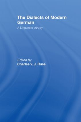 The Dialects of Modern German: A Linguistic Survey (Hardback) book cover