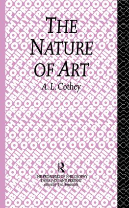 The Nature of Art (Hardback) book cover