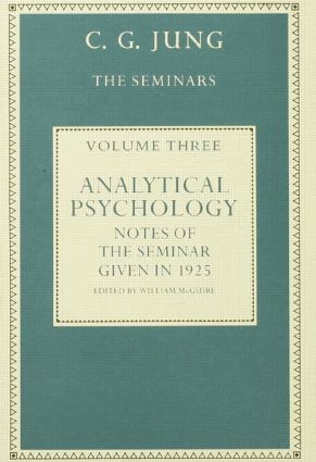 Analytical Psychology: Notes of the Seminar given in 1925 by C.G. Jung, 1st Edition (Paperback) book cover