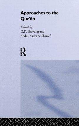 Approaches to the Qur'an (Hardback) book cover